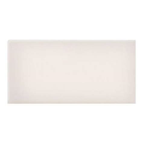 rittenhouse square tile trim pieces daltile rittenhouse square 3 in x 6 in white ceramic
