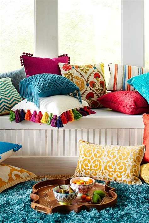 25 best ideas about colorful pillows on cheap