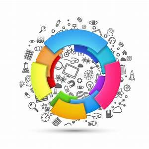 Color Wheel Vector Spectrum  Colorful Circle Rainbow
