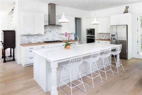 kitchen island legs wood 10 farmhouse kitchen designs ideas design trends
