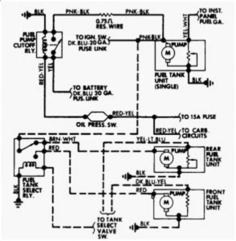 Wiring Diagram For Chevy Truck Fuel Pump