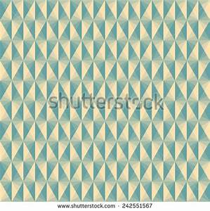 Vintage Diamond Pattern Wallpaper