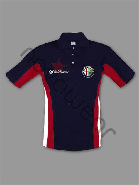 Alfa Romeo Apparel by Alfa Romeo Polo Shirt