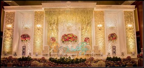 wedding reception stage decor bd event management