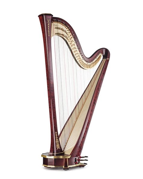 arion sg gold pedal harp