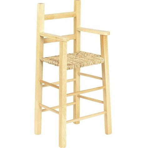 chaise bébé en bois chaise haute enfant bois naturel