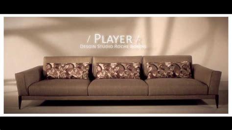 canapé relax roche bobois roche bobois divano in tessuto canapé player mobilpro