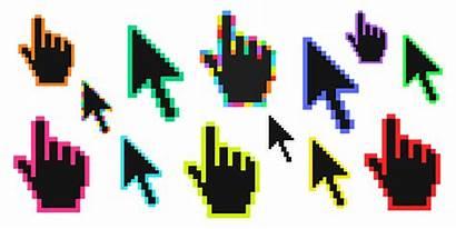 Pixels Cursor Custom Colors Pixel Cursors Collections
