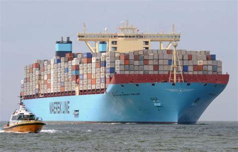 le plus grand porte conteneur des porte conteneurs de 19 200 evp envisag 233 s par l alliance p3
