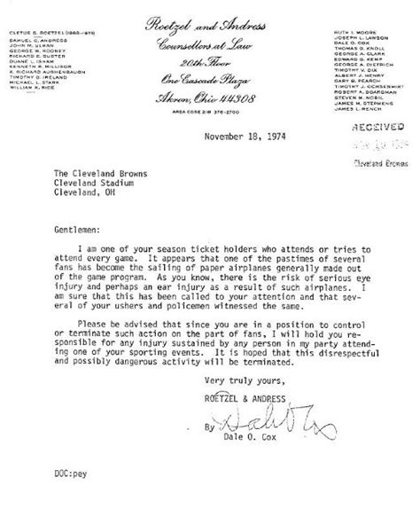 florida bar advertising cover letter letters of note regarding your stupid complaint