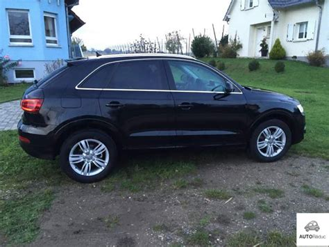 audi q3 ambition luxe achat audi q3 2 0 tdi 140 ambition luxe d occasion pas cher 224 27 900