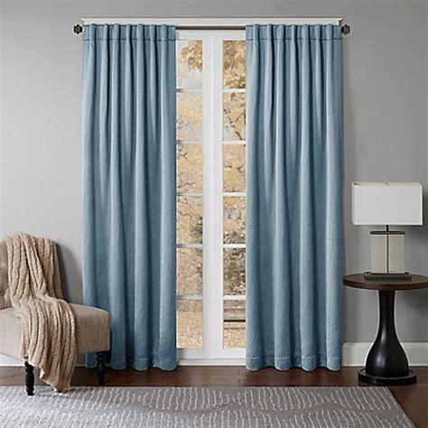 Back Tab Drapes by Princeton Rod Pocket Back Tab Window Curtain Panel Bed