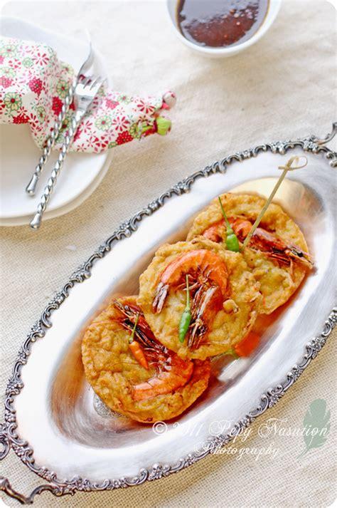 ote cuisine ote ote heici javanese shrimp cake indonesia eats