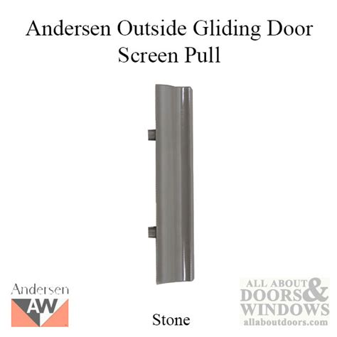 andersen outside screen pull handle for 2 3 panel