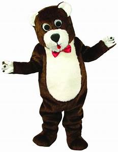 Teddy Bear Mascot As Pictured Costume - SpicyLegs.com