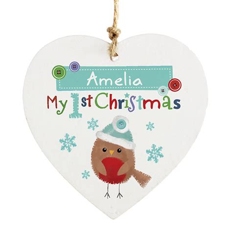 personalised baby s my first 1st christmas gift idea tree