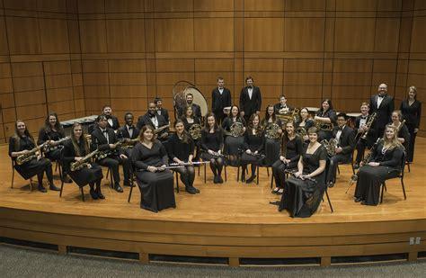 evangel symphonic band in concert on thursday feb 19