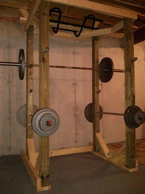 pin  wooden power rack
