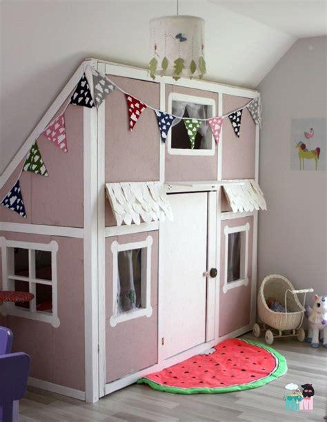 Kinderzimmer Gestalten Diy by Diy Ein Hausbett Im Kinderzimmer Chellisrainbowroom