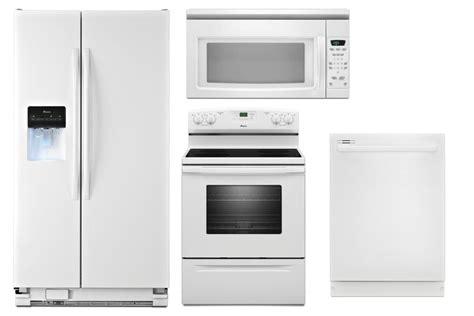 Kitchenaid Appliances Florida by White Appliance Suite Refrigerator Asd2575brw Amana