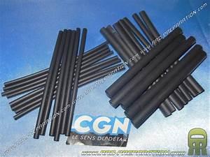 Gaine Pour Fil électrique : 25 gaines thermo r tractables cgn longueur 100mm pour ~ Premium-room.com Idées de Décoration