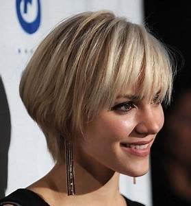 Coupe De Cheveux Femme Visage Rond Cheveux Epais : coupe courte pour visage rond et cheveux epais ~ Nature-et-papiers.com Idées de Décoration