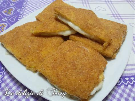 ricette mozzarella in carrozza al forno ricetta mozzarella in carrozza al forno