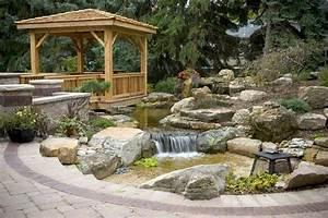 amenagement exterieur et application de la pierre la suite With amenagement jardin avec pierres 9 terrasses les artisans du jardin