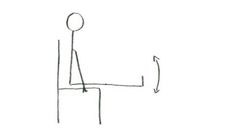 abdos au bureau top des exercices physiques à faire au bureau