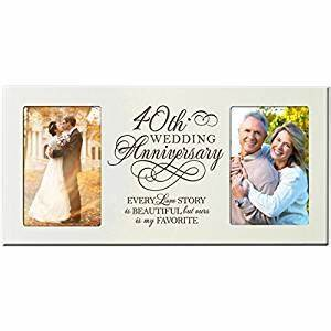 amazoncom 40th wedding anniversary gifts for couple 40 With amazon wedding gift ideas
