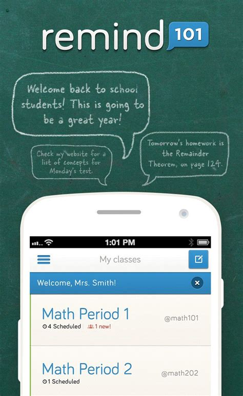 Sending mass messages has never been as easy as it. Remind101 is a FREE, safe way for teachers to text message ...