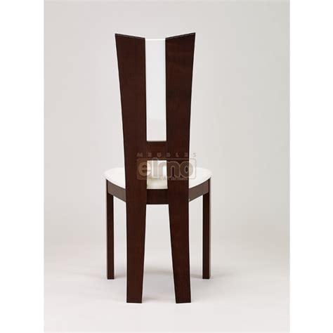 chaise salle à manger moderne hêtre massif de flora