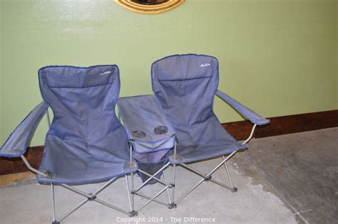 Maccabee Folding Chairs Cing by The Difference Auction Antiques Collectibles