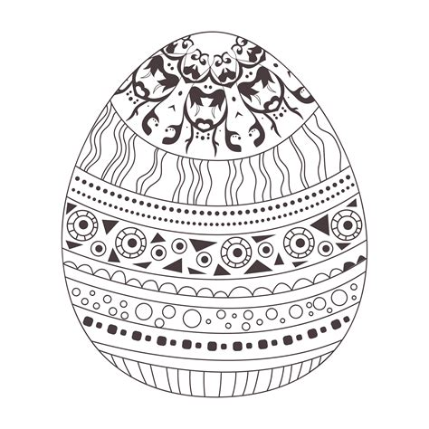mindfulness coloring easter egg mindfulness colouring