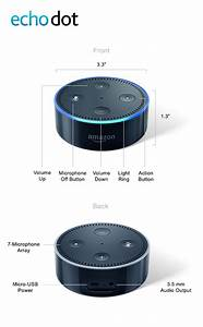 Amazon Echo Dot 2nd Generation w/ Alexa Voice Media Device ...