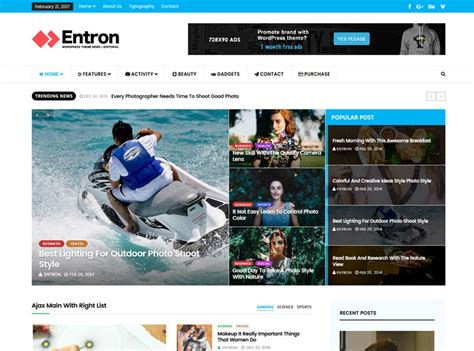 Best Free Themes 30 Best Free Magazine Themes Freshdesignweb