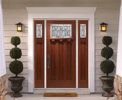 mission style front door craftsman style exterior doors axiomseducation