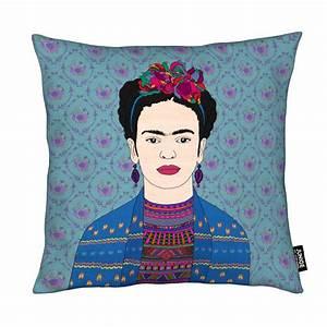 Frida Kahlo Kissen : frida kahlo als kissen von bianca green juniqe ~ One.caynefoto.club Haus und Dekorationen