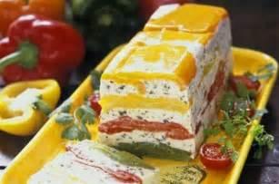 comment cuisiner le saumon frais terrine de poivrons au fromage blanc de chèvre