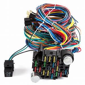 21 Circuit Wiring Harness For Chevy Universal Wires Fit X