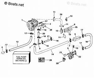 Evinrude Outboard Parts By Year 1994 Oem Parts Diagram For