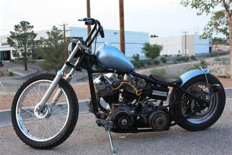 1979 Harley Davidson Shovelhead Chopper Clear For Sale On