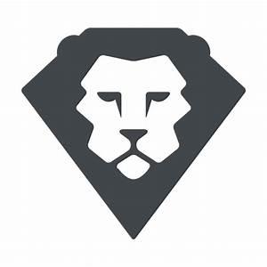 León plana safari logo - Descargar PNG/SVG transparente
