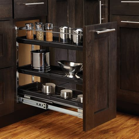 kitchen base cabinet organizers rev a shelf 548 bc 8c 7 7 8 w base cabinet organizer 5106