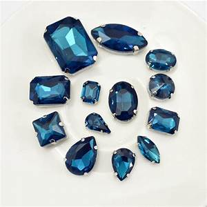 8x13mm 10x14mm 13x18mm Blue Zircon Same Colors Different ...