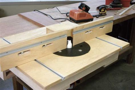 weekend router table popular woodworking magazine