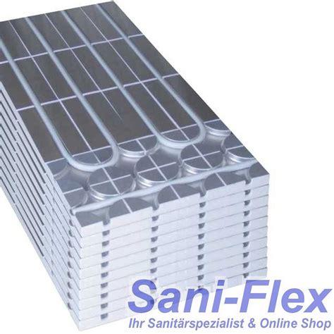 Platten Für Fussbodenheizung by 10 St 252 Ck 5m 178 Sani Systemplatten Zur Erweiterung