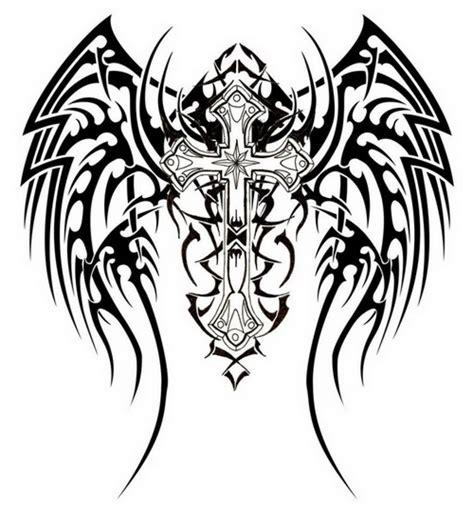 fantastic tribal christian tattoos