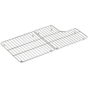 kohler sink rack whitehaven k6639 st whitehaven rinse basket basin rack kitchen