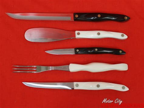 cutco kitchen knife knives cutlery 10pc assorted household brand